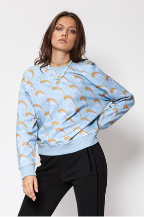 {b}KATE 172 cm model sweatshirt XS