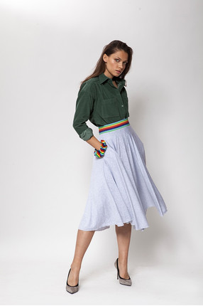 {b}KATE 172 cm modelka spódnica XS koszula XS