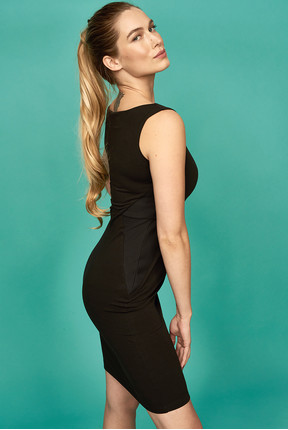 {b}KINGA 175 cm dietetyk, wizażystka sukienka S