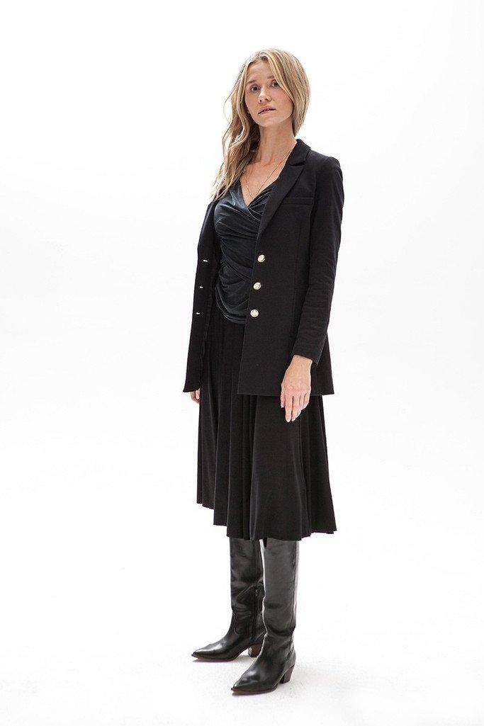 {b}MARZENA 182 cm fabric & accessories procurement specialist jacket XS